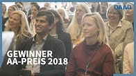 c990e7e6552c5d Verleihung des AA-Preises im Rahmen der Leitertagung 2018 - Duration: 81  seconds.