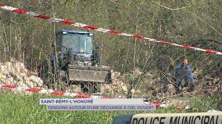 Yvelines | Saint-Remy-l'Honoré : tensions autour d'une décharge à ciel ouvert