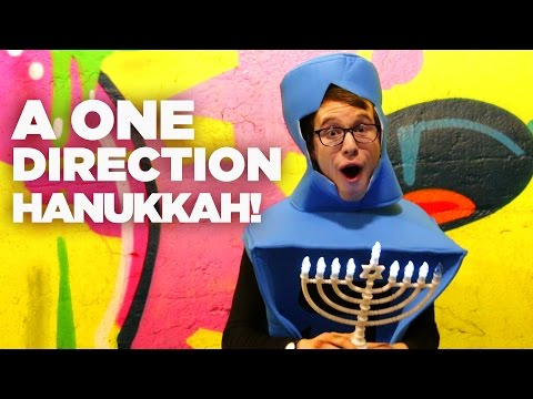 """A ONE DIRECTION HANUKKAH"" - EPIC PARODY MASHUP!"