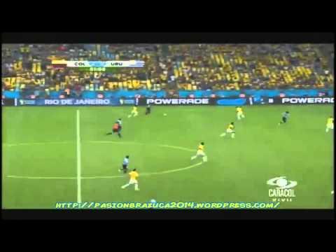 Colombia 2 Uruguay 0 (Narración Colombiana) Fifa World Cup