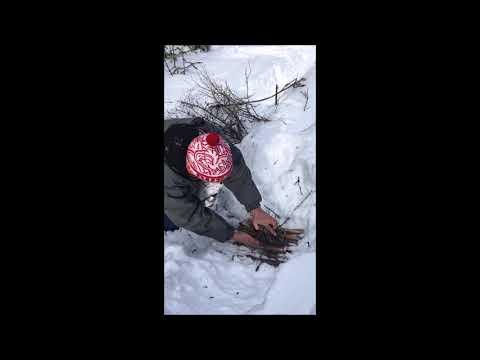 Основы выживания. Костер с 1 спички. Timesat.ru