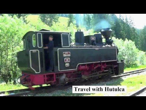 Travel in Bucovina with Hutulca Steam Train (Romania)
