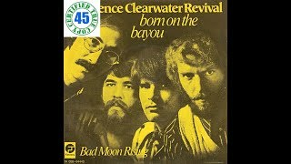 CREEDENCE CLEARWATER REVIVAL - BORN ON THE BAYOU - Bayou Country (1969) HiDef :: SOTW #205