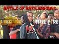 The Rap Battle: Battle Of BattleGround PUBGM VS FREEFIRE (PARODY)