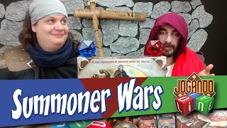 Summoner Wars - Board Game Review por Jogando Offline (s02e13)
