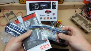 BOSS AUDIO BV7284B Mech-less Digital Media Receiver Unboxing