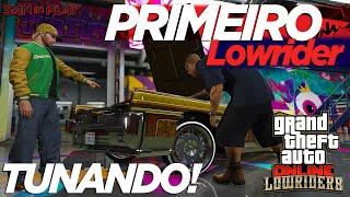 GTA Online: Tunando meu Primeiro LOWRIDER - Vapid Chino | DLC dos Lowriders!