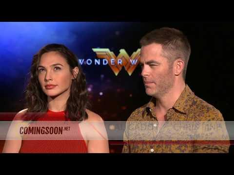 WONDER WOMAN - Gal Gadot and Chris Pine Interview