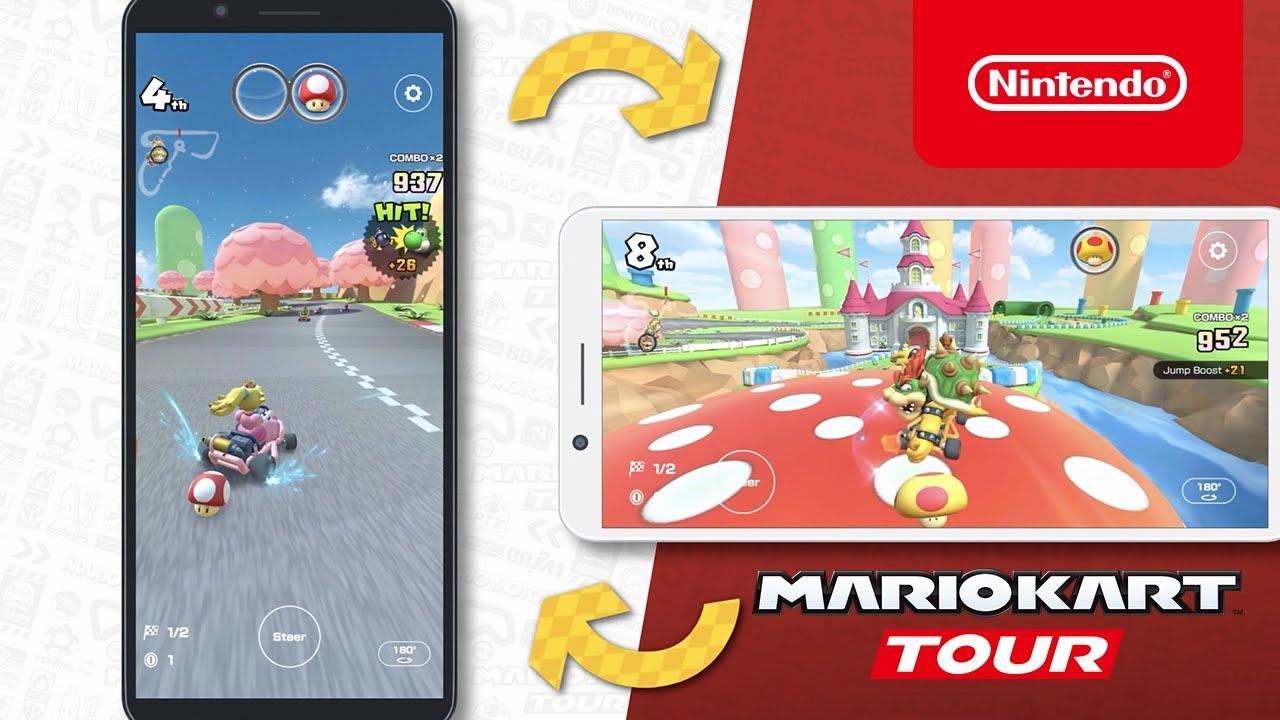 Mario Kart Tour Update Adds Landscape Mode Polygon