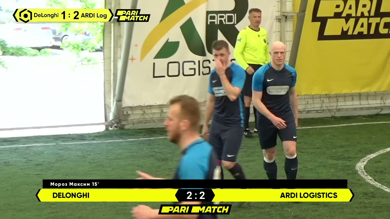 Огляд матчу | DeLonghi 3 : 5 ARDI Logistics