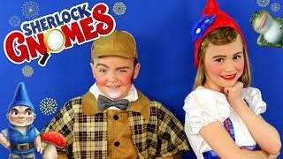 Sherlock Gnomes Juliet and Sherlock Makeup and Costumes