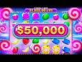 Buying a $50,000 Sweet Bonanza Xmas Slot Bonus...