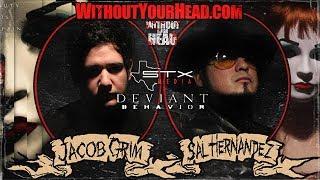 Sal Hernandez and Jacob Grim of STX Media independent horror interview