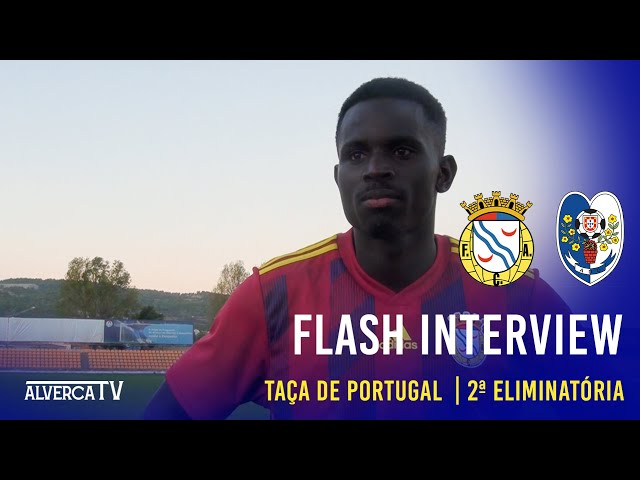 FC Alverca 2 x AD Camacha 1 - Flash Interview