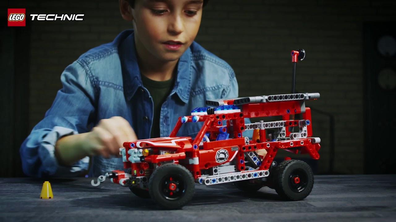 Pojazd Szybkiego Reagowania Lego Technic 42075 Youtube