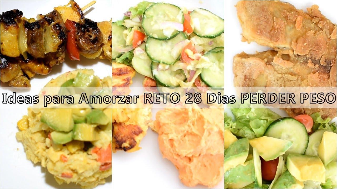 Ideas de comidas saludables para bajar de peso