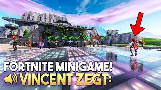 VINCENT ZEGT  *MET 15 SPELERS* - Fortnite Creative (Nederlands)