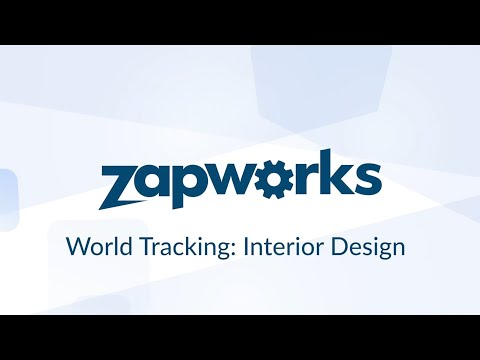 AR product visualization with ZapWorks - World tracking interior design tutorial - Part 1 thumbnail