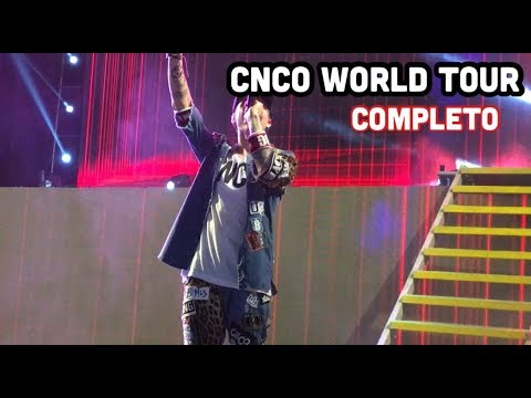 CNCO WORLD TOUR COMPLETO  - PERÚ 2019