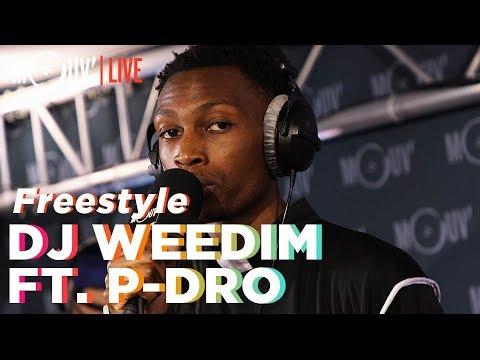 Youtube: DJ WEEDIM FT. P-DRO: Freestyle (Live @Mouv' Studios)