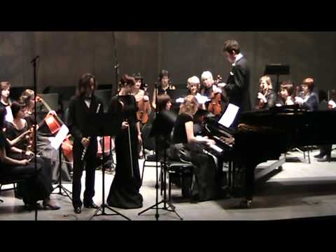 И.С. Бах. Бранденбургский концерт №5, ч.1.