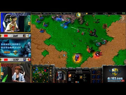 WarCraft 3 Gold 2017 Infi(Hu) vs 120(UD) c Майкером
