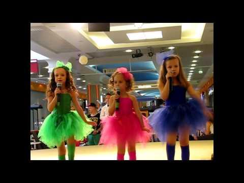 Детская Новая ПЕСНЯ ДЕВОЧКИ-КОНФЕТКИ  поют Вокальный Квартет  ТОДИ