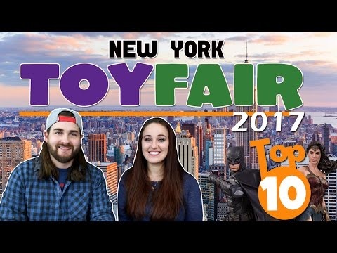 Top 10 Coolest Toys at New York Toy Fair 2017