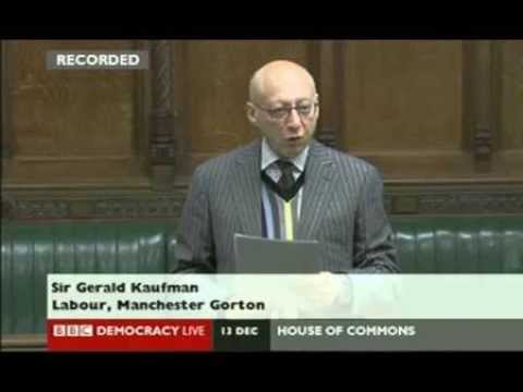 Israeli state becoming apartheid - warning from Jewish MP Gerald Kaufman - JSIL ISIL