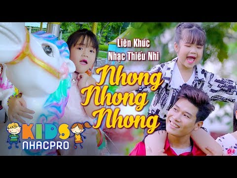 Bé Minh Vy Hát Nhong Nhong Nhong ♫ Nhạc Thiếu Nhi Cho Bé - Music For Kids