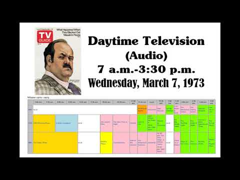 DAYTIME TELEVISION (AUDIO), MARCH 7, 1973