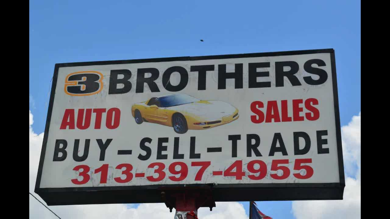 Brothers Auto Sales >> 3 Brothers Auto Sales In Detroit Michigan Youtube