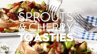 Sprouts and Cherry Toasties
