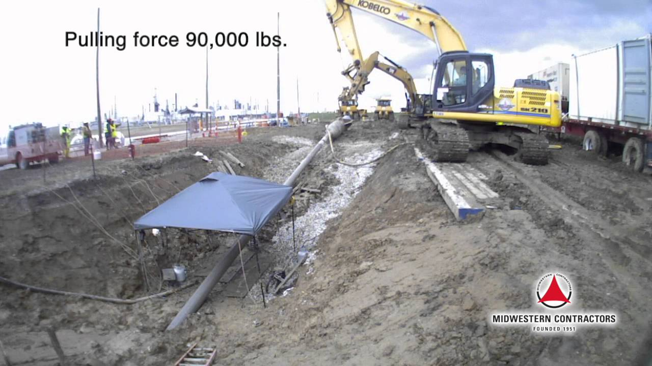HDD Pipe Extraction (Video Content) | Midwestern Contractors