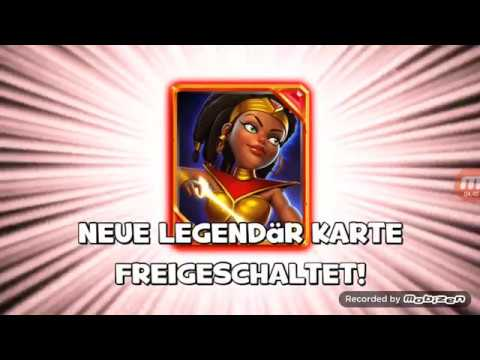 Castle Crush /  New Legendary Card (Archer Queen)/ And Giant Chest Playing With Archer Deck