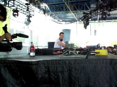 Konrad Black @ the Detroit Electronic Music Festival 2008