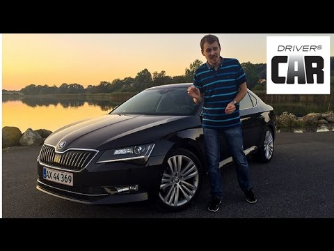 Skoda Superb 2015 test