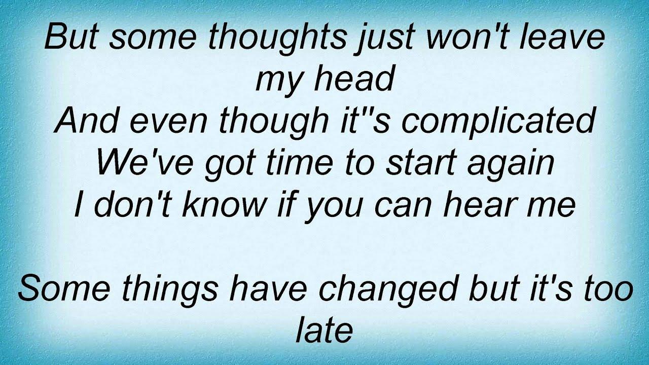 death cab for cutie - start again lyrics - youtube