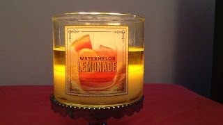 ✦review Of Bath And Body Works Watermelon Lemonade Candle 2014✦