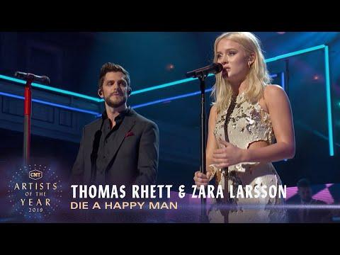 Thomas Rhett & Zara Larsson Perform 'Die A Happy Man' (2016) | CMT