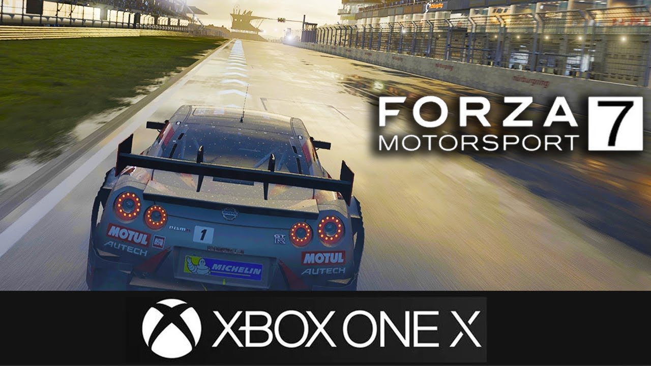 forza 7 gameplay 4k xbox one x gameplay gorgeous direct feed youtube. Black Bedroom Furniture Sets. Home Design Ideas