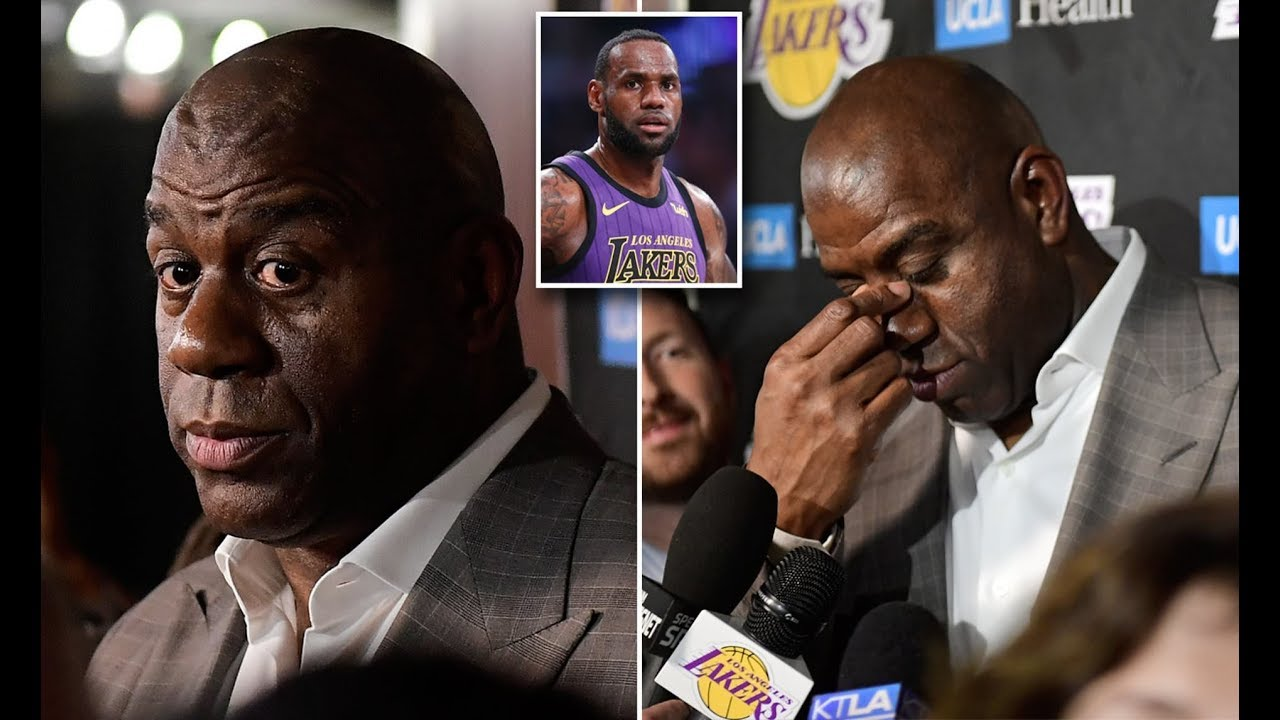 LeBron James reportedly 'stunned' at Magic Johnson's abrupt resignation