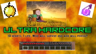 Splitscreen Madness: Minecraft Ultra Hardcore Episode 1 (feat. EA, CharlieComin & Uncle Finley)