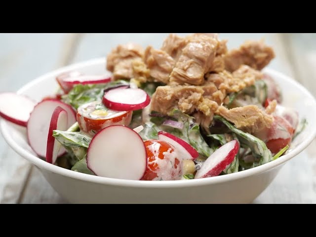Ton Balıklı Salata Tarifi, Nasıl Yapılır?