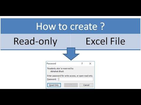 Hướng Dẫn Cách Đặt Sổ Làm Việc Excel Của Bạn Chỉ Đọc VERA STAR