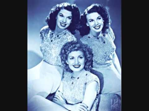 Sentimental Gentleman from Georgia ~ The Dinning Sisters (1944)
