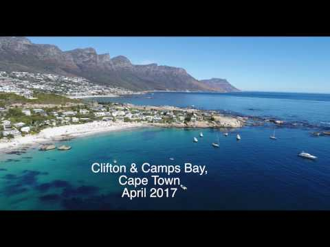 Clifton and Camps Bay, Cape Town April 2017