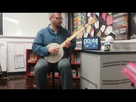 Banjo Instruction - Alleghany Junior Appalachian Musicians