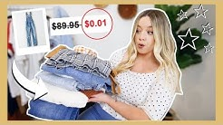 how i got $500 of American Eagle clothes for $200