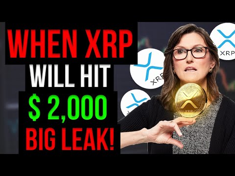 """Cathie Wood Leaked """"WHEN XRP WILL HIT $2,000""""   Xrp Price Prediction"""